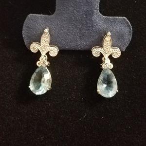 4.1 carat Flourite Earrings